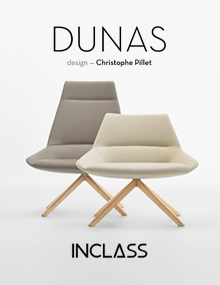 INCLASS Spain, Dunas Collection, designed by Chistophe Pillet