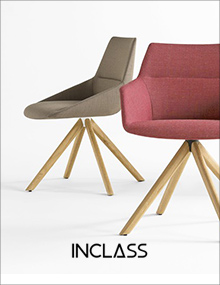 INCLASS Dunas XS Wood Swivel Chair and Armchair