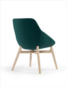 Offecct Ezy Wood Low Chair