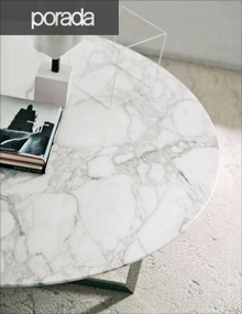 Porada Londra Coffee Table in Calacatta Gold Marble