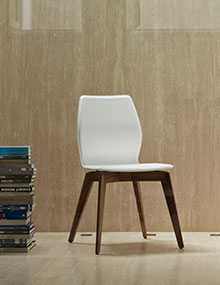 Porada Tilde Chair hide leather