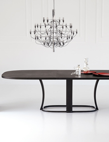 Potocco Grace Oval Table