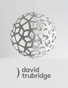 David Trubridge Coral Lamps