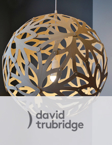 David Trubridge Floral Lamps