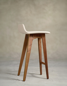 Zeitraum Morph Fully Upholstered Stool