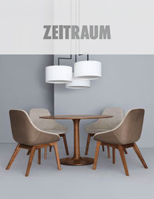 Zeitraum Turntable and Morph Dining Chair