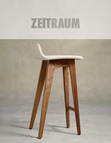 Zeitraum Morph Stool fully upholstered