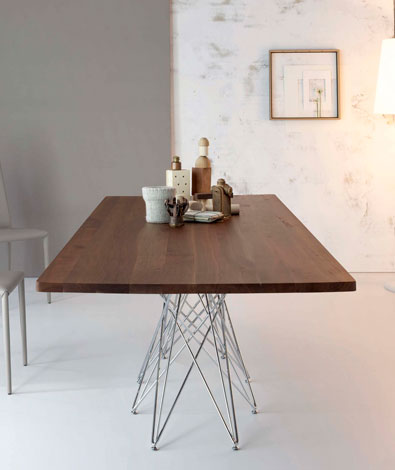 Bonaldo Octa Table Walnut