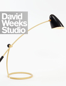 david weeks studio, new york | adjustable arc lamp