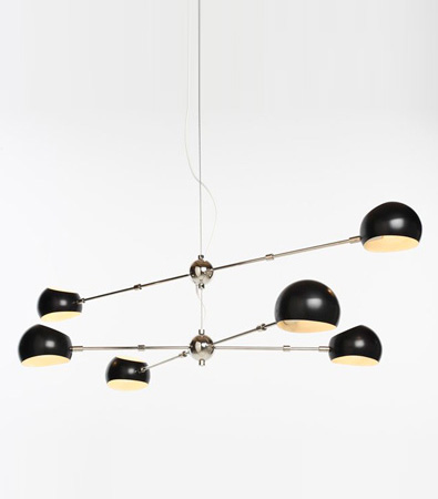 David Weeks Studio Oval Boi Chandelier