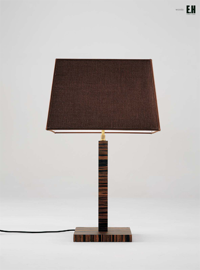 Luminara Woody Table Lamp