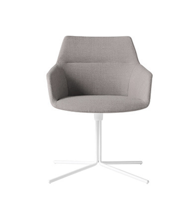 INCLASS Dunas XS Armchair with four star flat swivel base