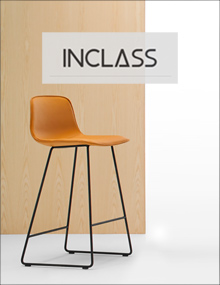 INCLASS Varya Tapiz Sled Base Stool