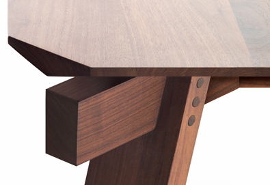 Lando Versoquadro Table detail