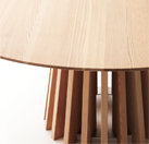 Lando Aria Table in Solid wood