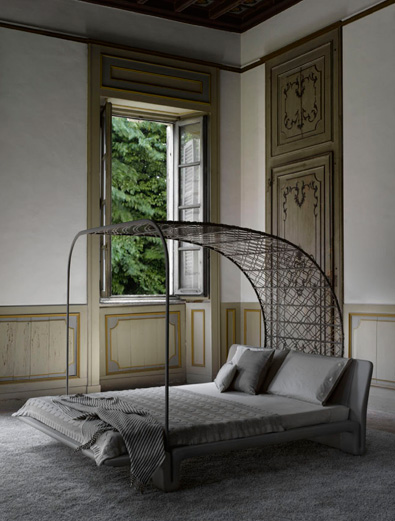 Modern Bed, Matteograssi Twice Bed