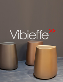 Vibieffe Pico Tables in Gold, Titanium, Bronze