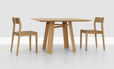 Zeitraum Bondt Square Table 2