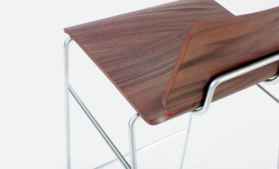 Zeitraum Form Bar stool detail