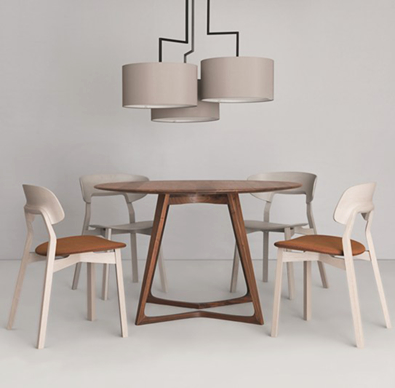 Zeitraum Nonoto Chairs, Twist Table