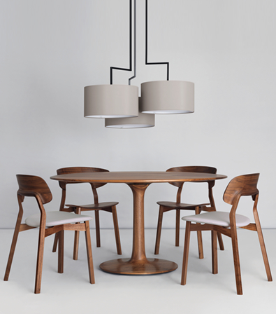 Zeitraum Twist Table, Nonoto Chairs