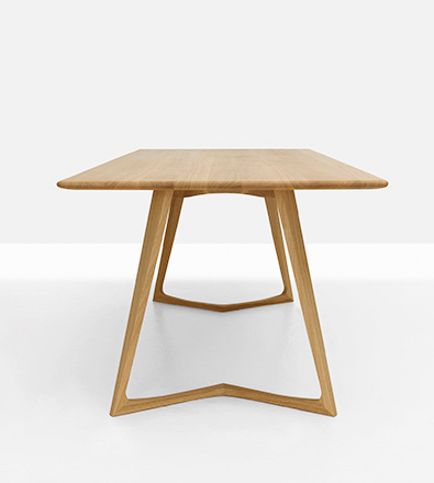 Zeitraum Twist Table Oak
