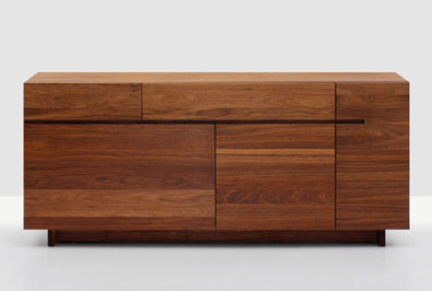 Zeitraum Side Server Walnut