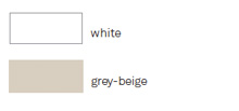 white, grey-beige