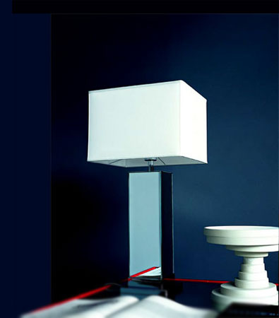 modern furniture & lighting | spencer interiors | table lamps:$2,190.00 | white or taupe shade,Lighting