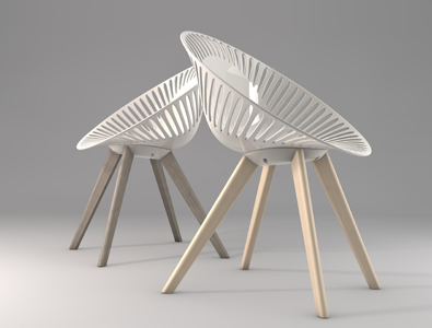 Casprini Azhar Wood Chair