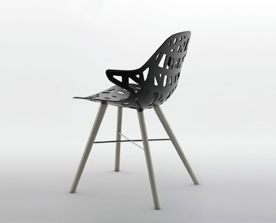 Casprini Pelota Wood Chair