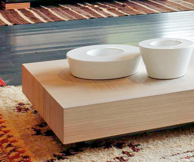 Cecchini low coffee table detail