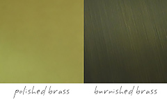 Emmemobili Dolly Cabinet Brass FInishes