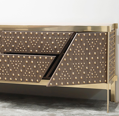 emmemobili italy | dolly cabinet drawer detail