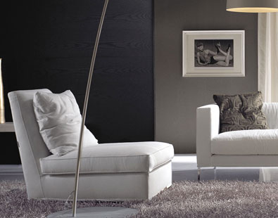 Frigerio Aretha armless chair