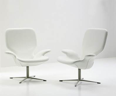 Frighetto Clarke Chairs White