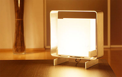 Luminara White Window Square