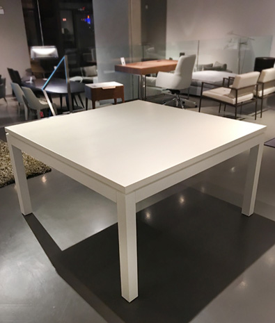 Meridiani Douglas Table in White Open Pore Oak