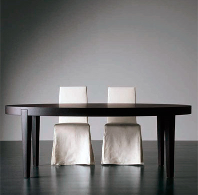 Meridiani Power Oval Table