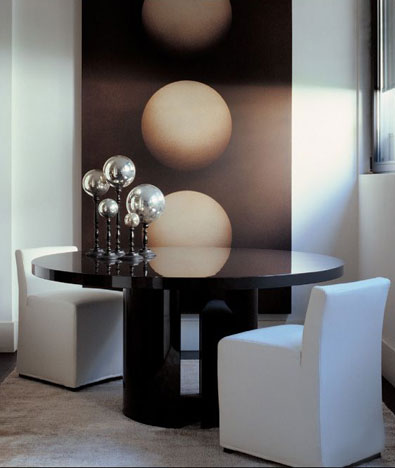 Meridiani Gong Lacquer Table