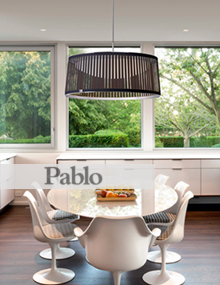 Pablo Solis Drum, Spencer Interiors, modern lighting Vancouver