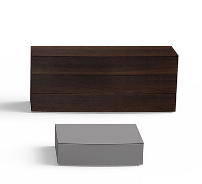 Pianca Arco 3 Drawer Dresser