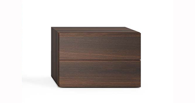 Pianca People 2 drawer nightstand
