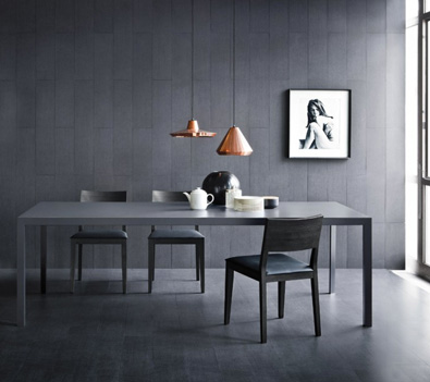 Pianca Soffio Table in Grey