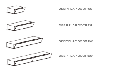 deep flap door drawings