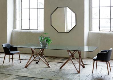 U2022(see A Larger Photo Of The Porada Circe Rectangular Table With Glass Top:  1.16 Mb)