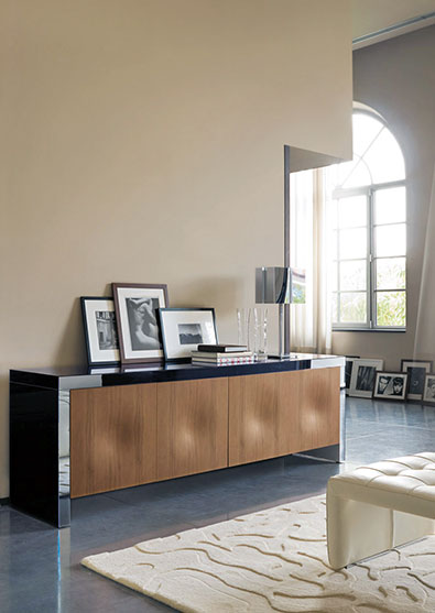 Porada Empire Cabinet in Walnut