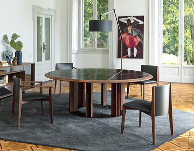 Porada Ionis Chair with Thayl round table