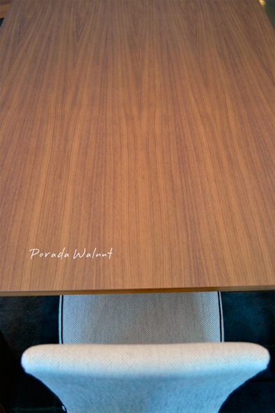 Porada Walnut Finish