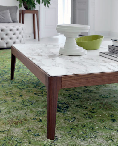 Porada Ziggy low table 120 detail